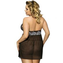 Women's Plus Size Backless Lace Cymar